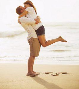 Abrazos en pareja